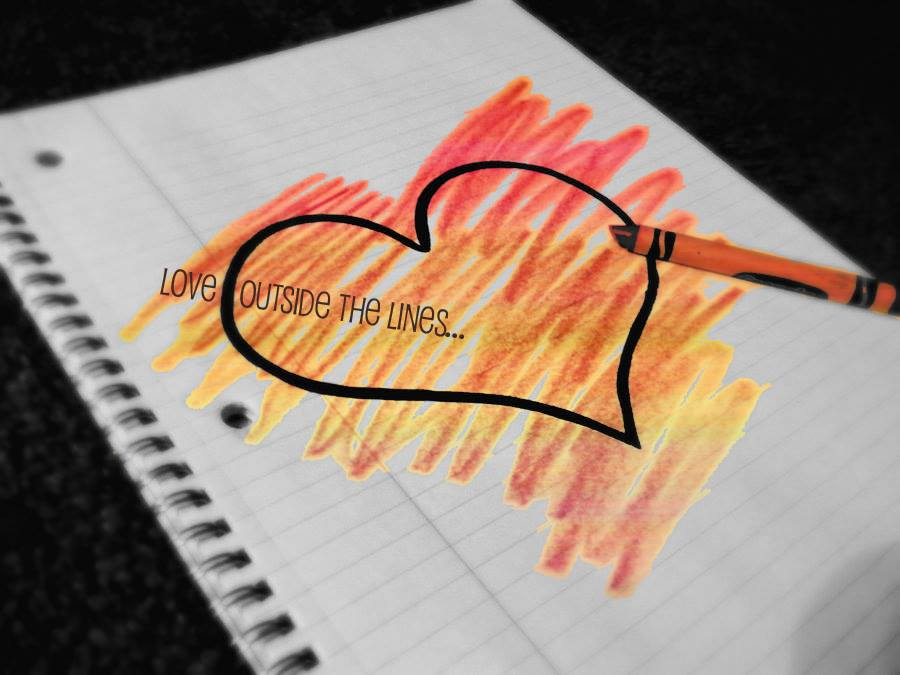 love outside the lines