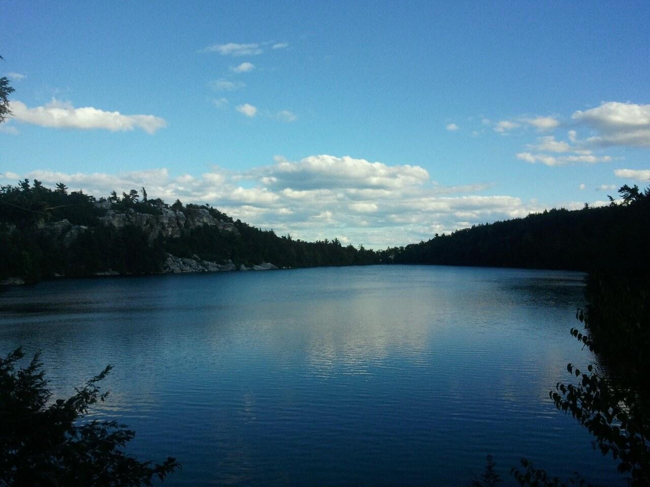 Lake Minnewaska. Photo by Shira Tamir.