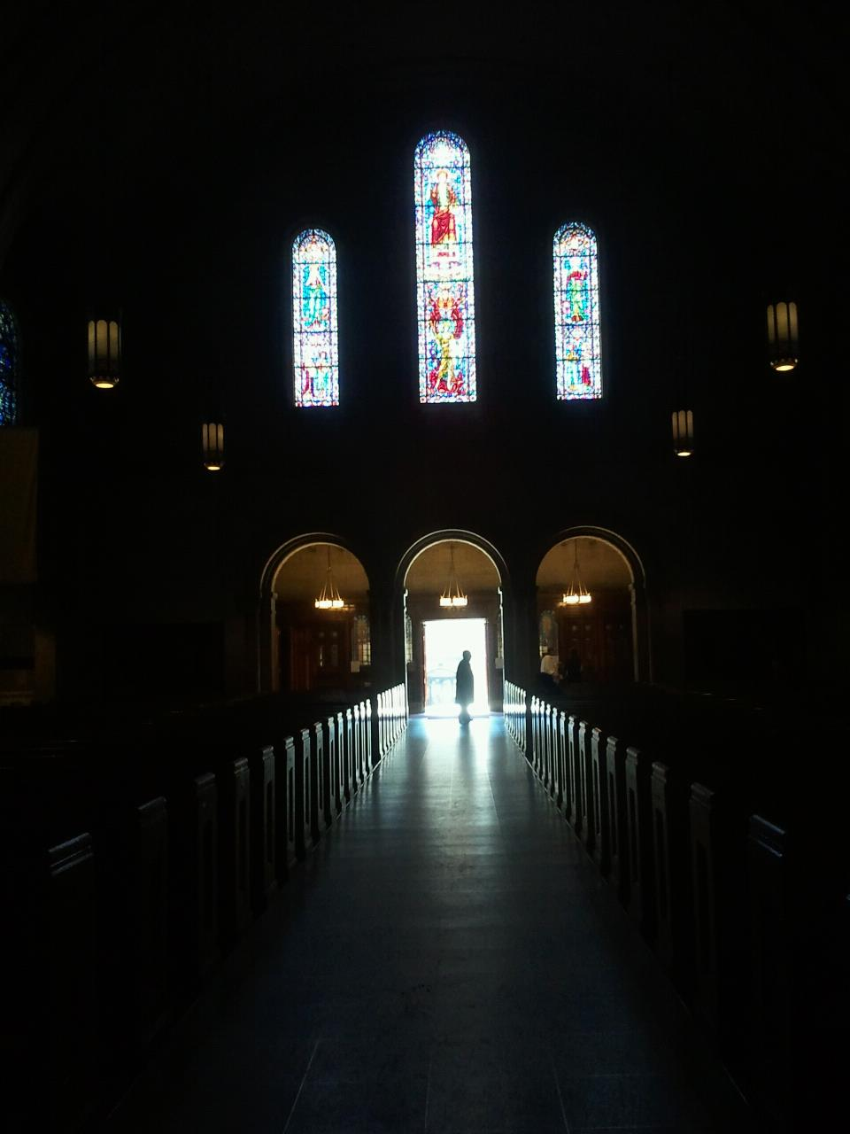 church shadow