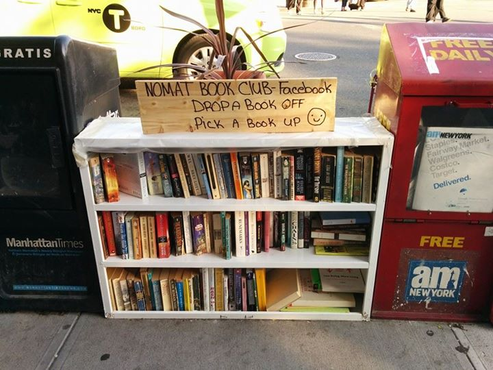 drop a book off
