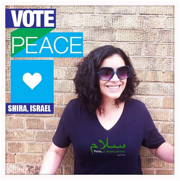 Vote peace