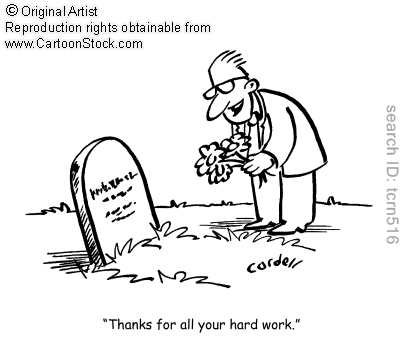 Thanks for all your hard work