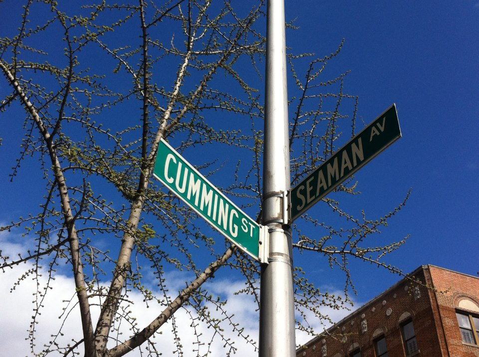 Probably the dirtiest street corner in New York...