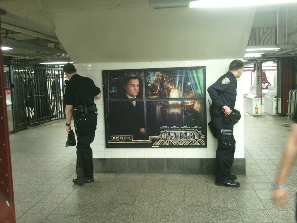 Photo by Shira Tamir. Seen in Penn Station.