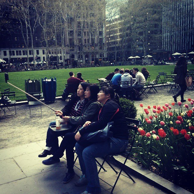 Photo by Shira Tamir. Seen in Bryant Park.